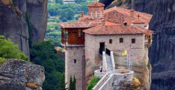 meteora rousanou monastery